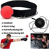 Xnature Reflejo de Boxeo Ball Fight Ball Cadena con Diadema para MMA Training