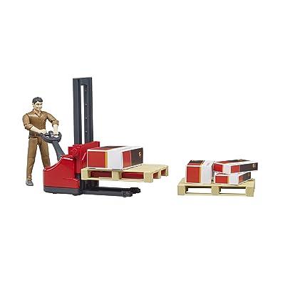 bruder Figure-Set Logistics Ups Vehicles - Toys: Toys & Games