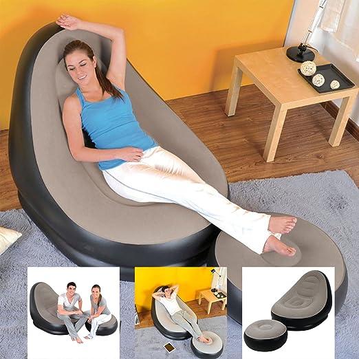 Denny International Deluxe Asiento Hinchable Lounge Tumbona ...