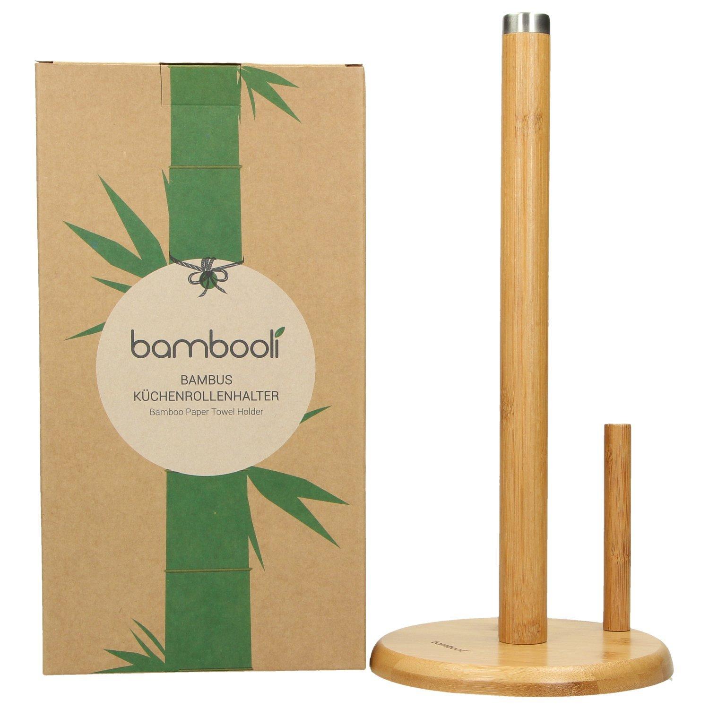 Bambooli Küchenrollenhalter aus Bambus | ökologischer ...