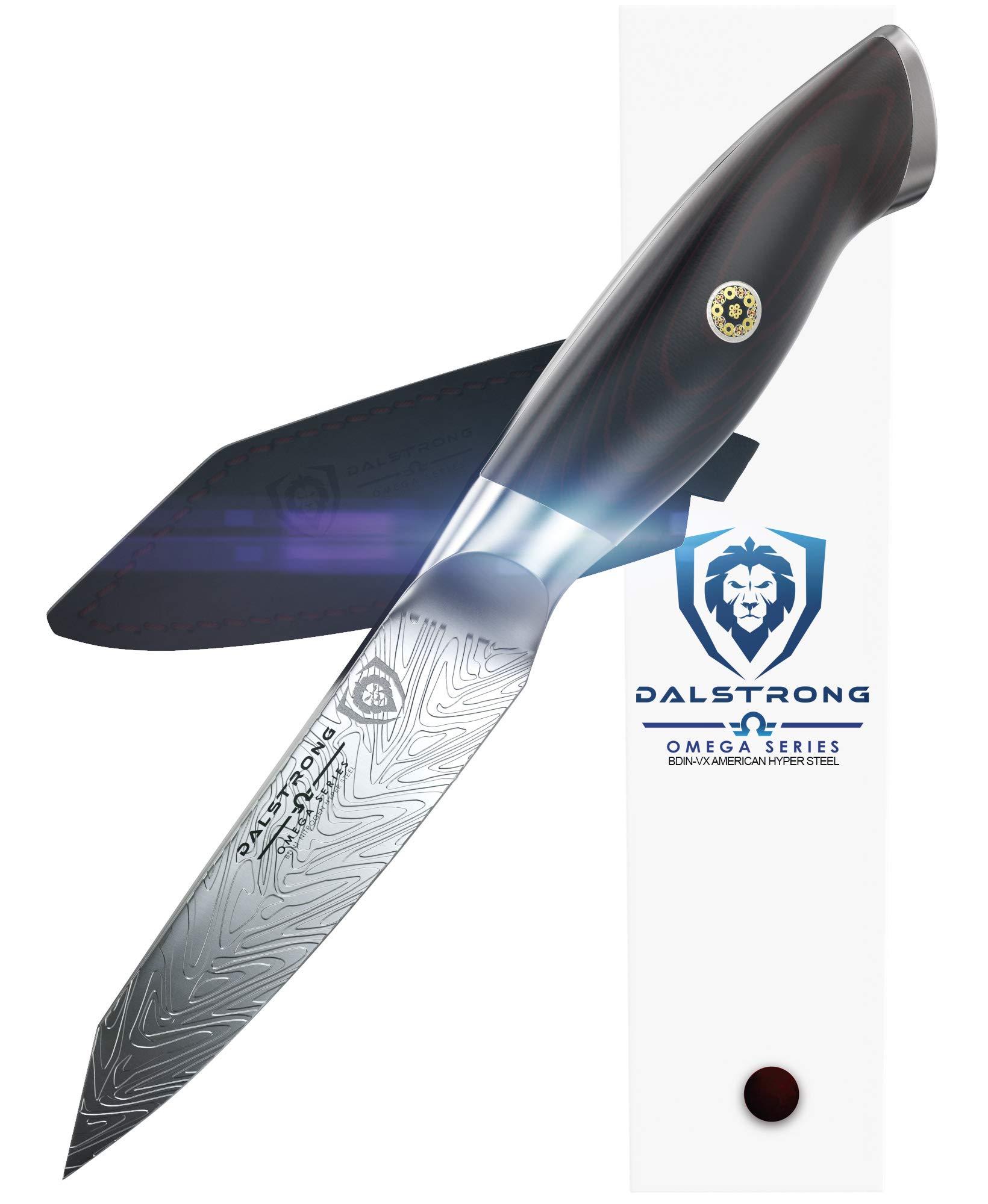 DALSTRONG Paring Knife - Omega Series - BD1N Steel- 4'' - w/Sheath