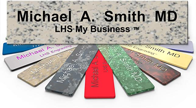 """NAME PLATE FOR OFFICE DESK OR DOOR SIGN PLAQUE PERSONALIZATION ENGRAVED 2/""""X8/"""""""