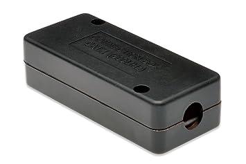 DIGITUS ASSMANN Electronic Cat 7 - Cajas de Conexiones de Red (Negro, Metal): Amazon.es: Informática
