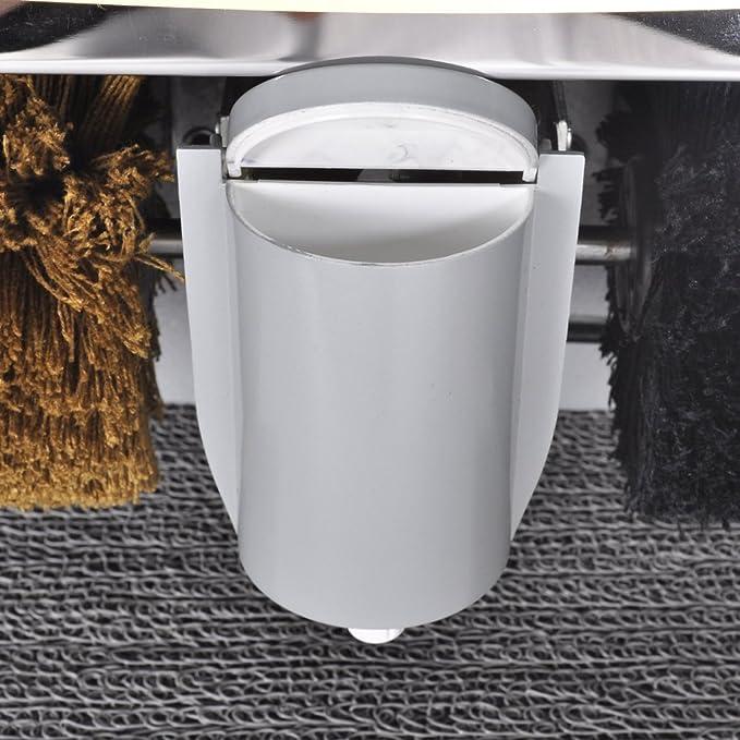 vidaXL Máquina de lustrado de zapatos eléctrica máquina de pulido de Zapato Pol: Amazon.es: Jardín