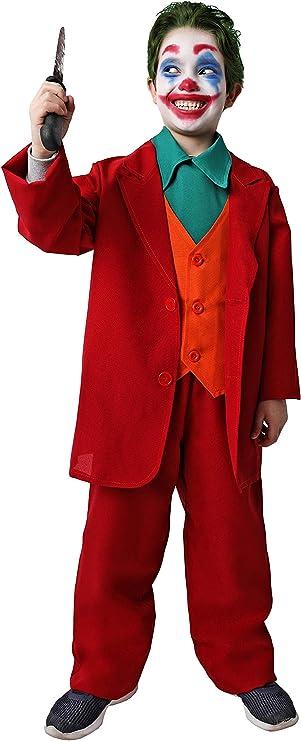 Costumizate! Disfraz de Payaso Asesino para niños Adulta Talla 5 o ...