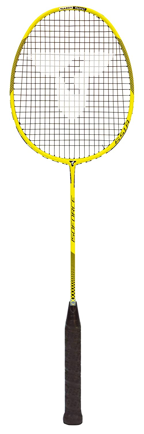 Talbot Torro Badmintonschläger Isoforce 651.8, 100% Carbon4, Long-Schaft für maximale Power, 439556 TAAS5|#Talbot Torro 439933