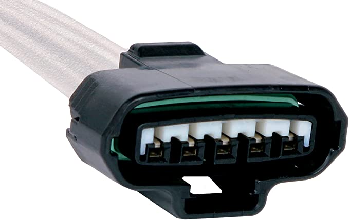 ACDelco PT187 GM Original Equipment 5-Way Female Black Multi-Purpose Pigtail