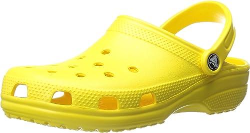 Citron Sabots Citron Mixte Crocs Adulte Crocs Sabots Mixte HEDIWY29