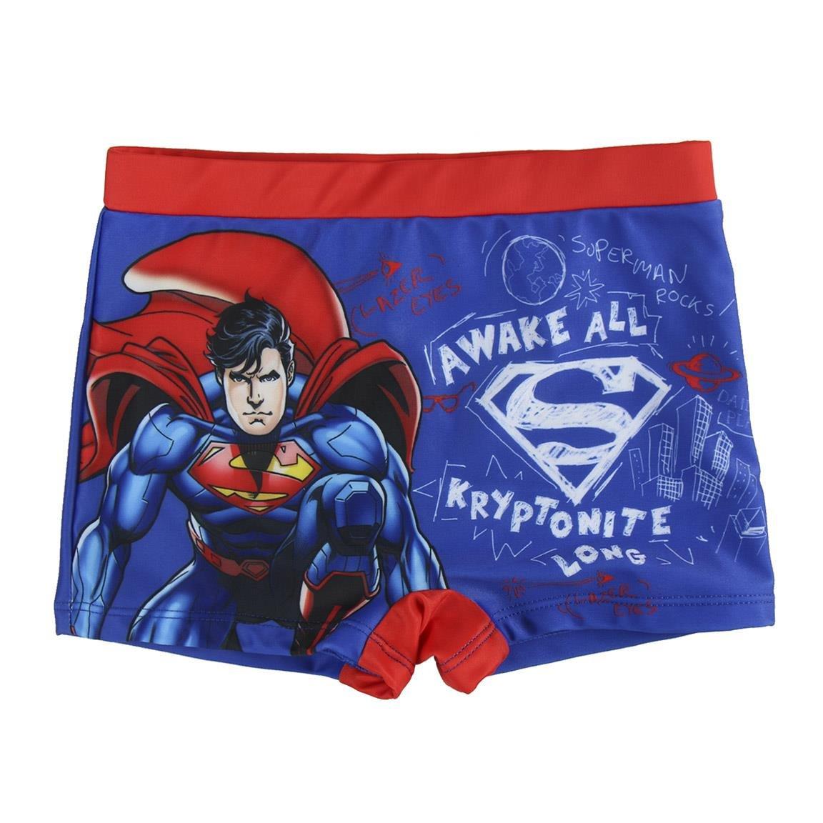 Ba/ñador boxer de Superman 6//7 a/ños