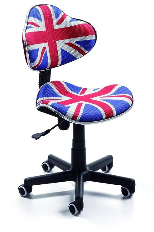 Silla de oficina juvenil, color british