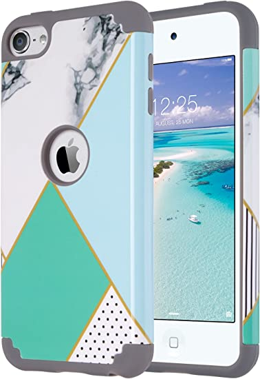 New Release iPod Touch iTouch 6 5 Case Triple-Layer Shockproof Armor Skin Cover