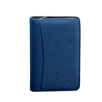 Amazon.com: Cubierta de piel sintética A6 con cremallera ...