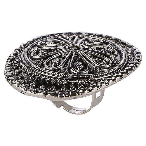 Amazon.com: Efulgenz Boho Floral Vintage Gypsy Indio Oxidado ...