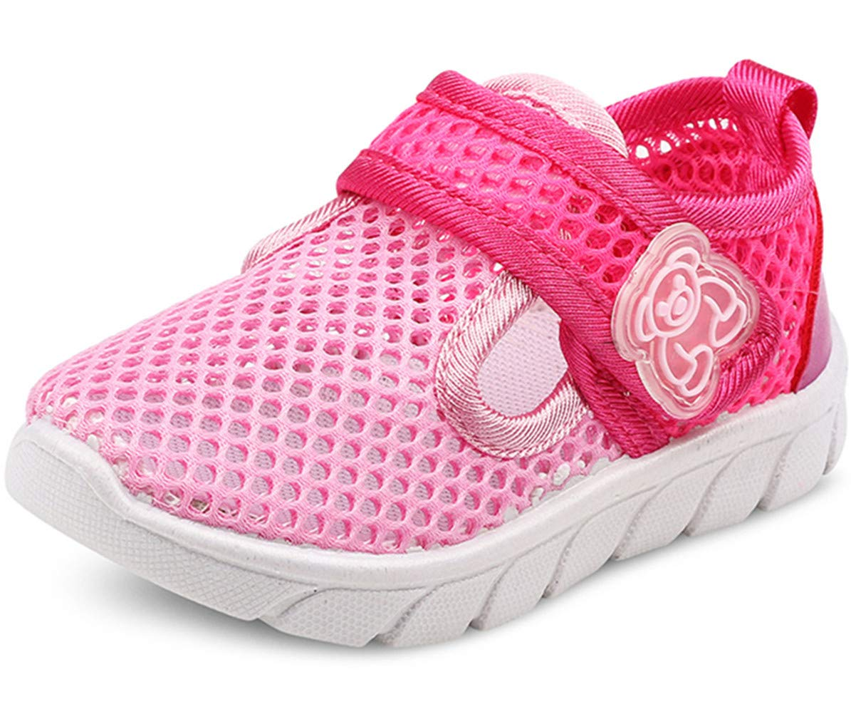 a923efef14d7 DADAWEN Baby s Boy s Girl s Water Shoes Lightweight Breathable Mesh Running  Sneakers Sandals 71212 larger image