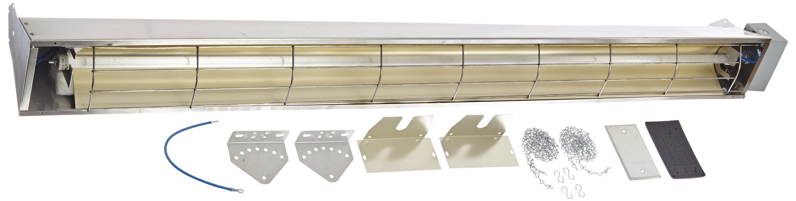 TPI Corporation OCHWG-57 Wire Guard, Stainless Steel, Used with  OCH-57 Series Quartz Infrared Heaters
