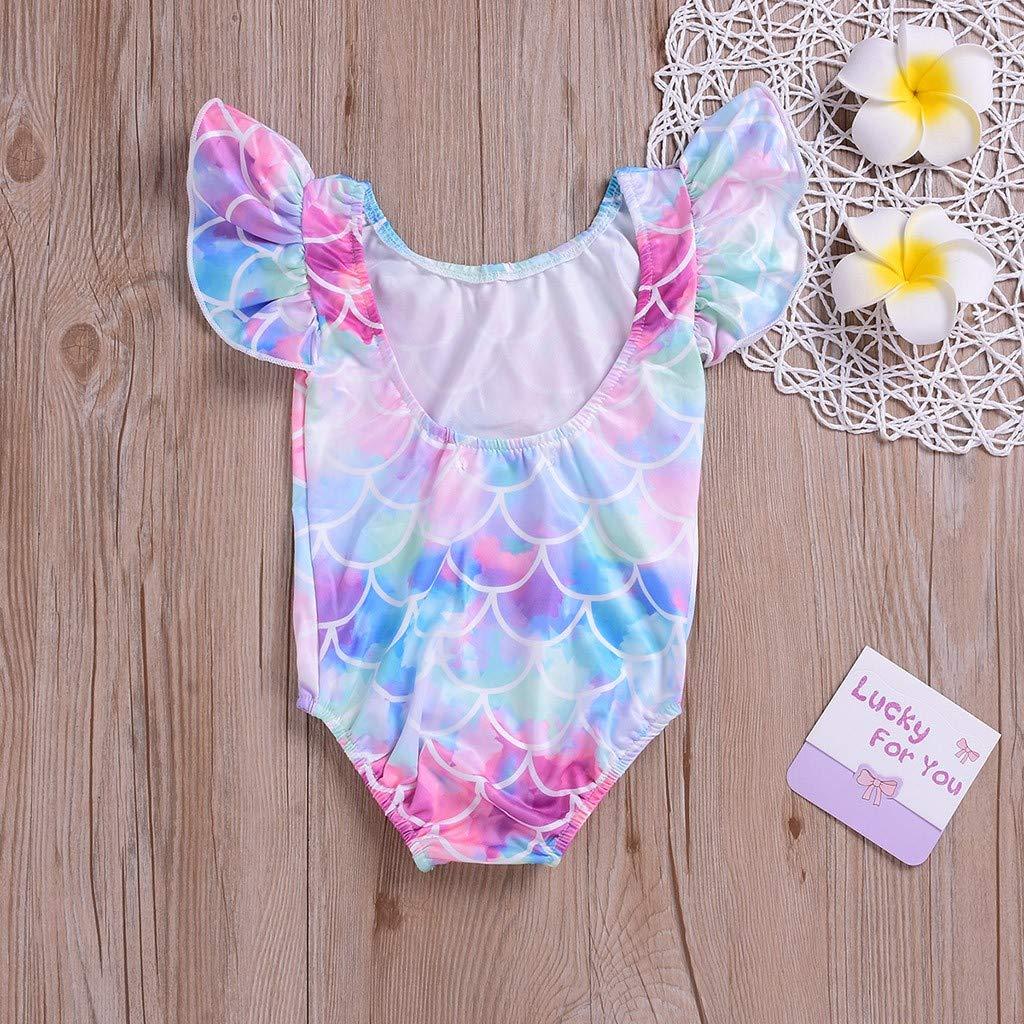 Zeside Baby M/ädchen Badeanzug