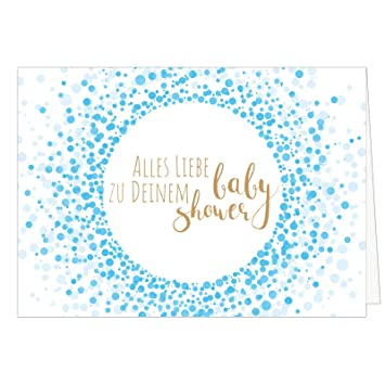 Baby Shower Karte Text.Grosse Design Baby Shower Karte Din A4 Xxl Deko Karte Fur