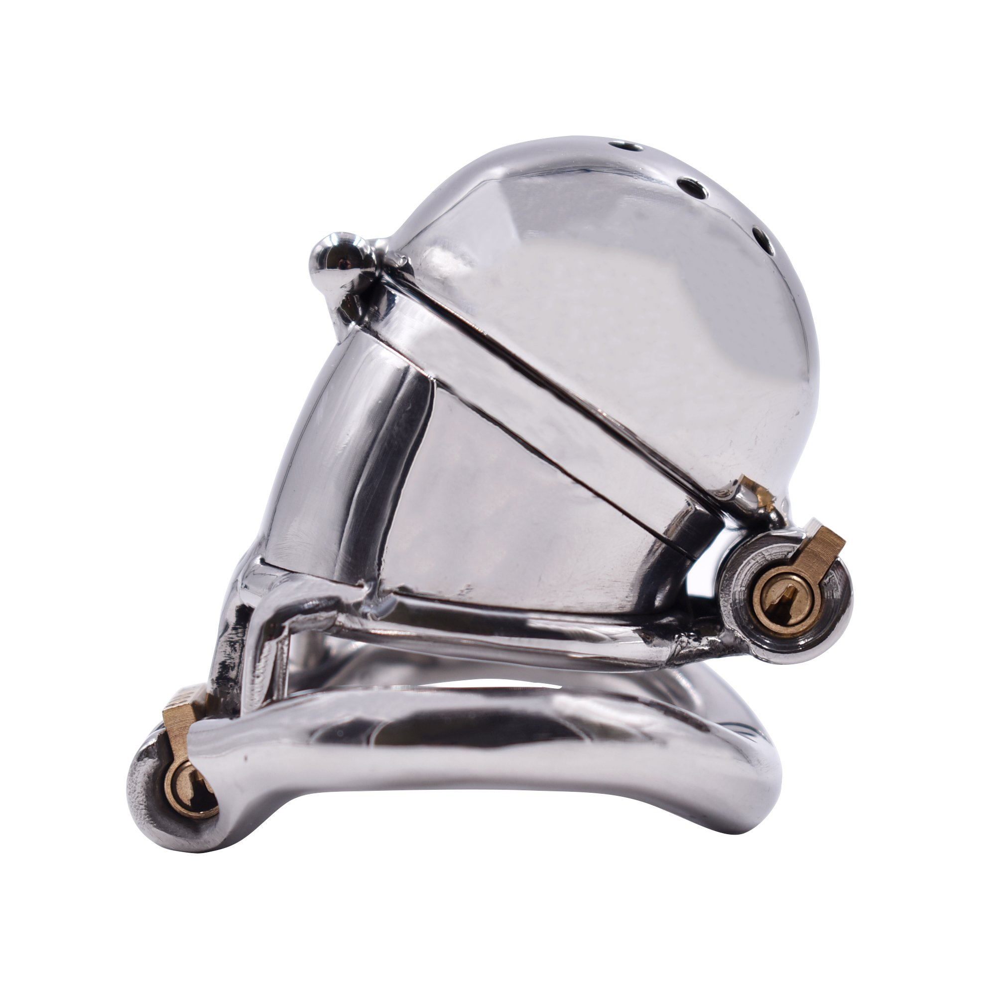 YiFeng Stainless Steel Male Chastity Cage Device Belt (50mm Ring) 195 by YiFeng