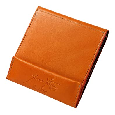 75b84c763506 Amazon | 薄い財布 abrAsus × Giacomo Valentini オレンジ | レディース ...