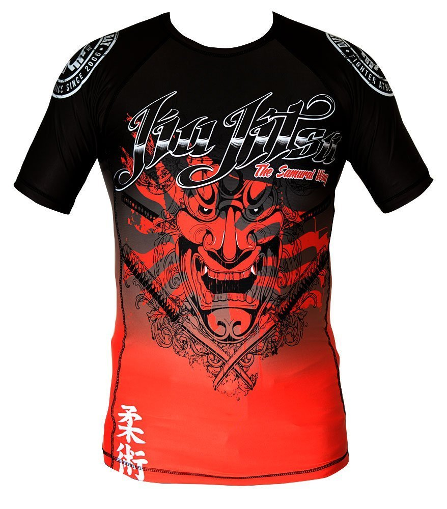 Image of Dirty Ray Short Sleeve Rash Guard SAMURAI