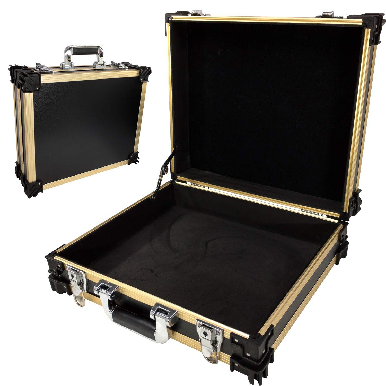 T.Z. Case International, STK16BD 荷造り用オーガナイザー, ブラックゴールド, One Size B07JMYW12Z