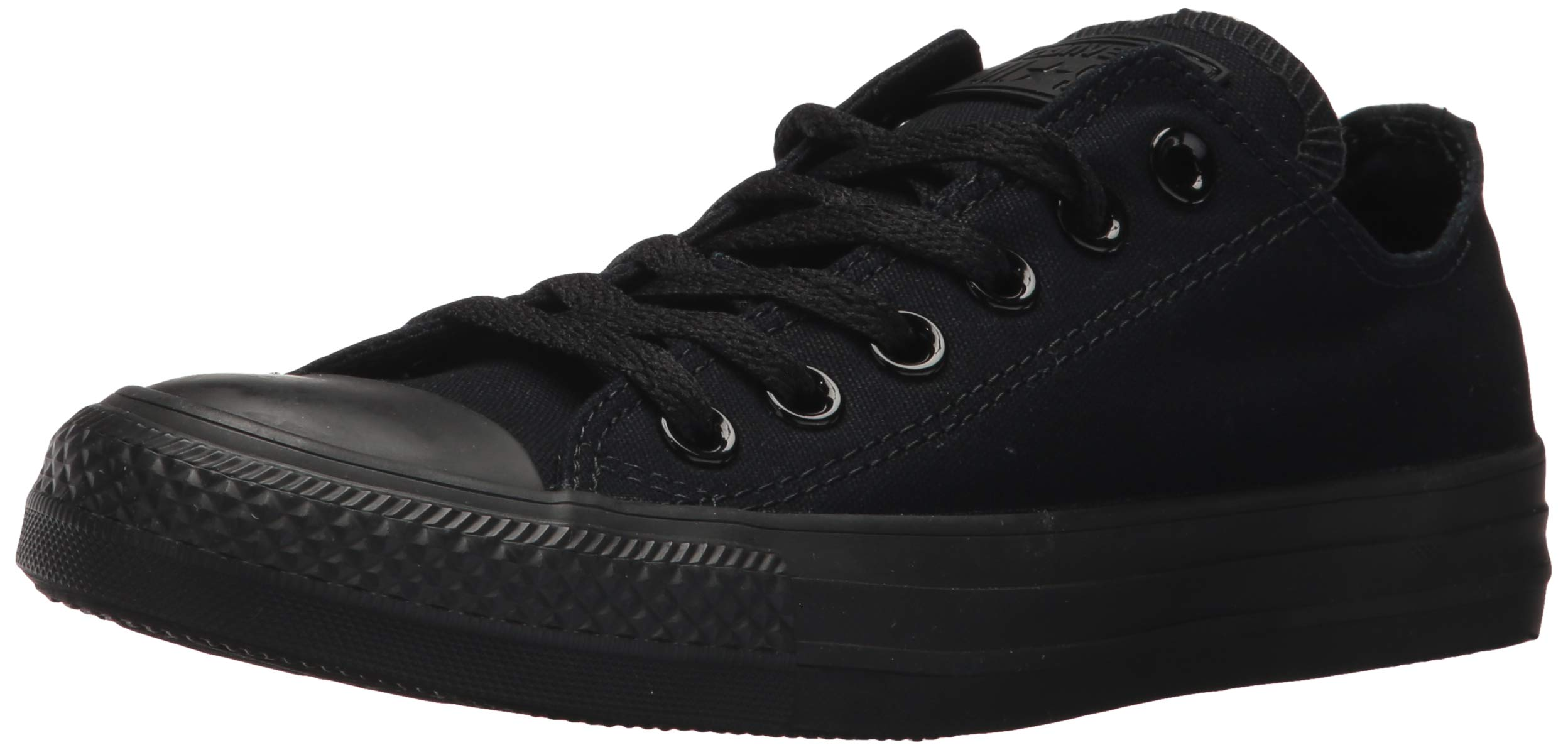 Converse Unisex Chuck Taylor All Star Low Top Black Monochrome Sneakers - 10.5 D(M) US