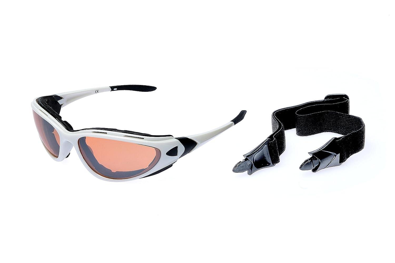 Alpland Skibrille Schutzbrille Sonnenbrille mit 70% mehr Kontrast für Allwetter 358uz6xiyE