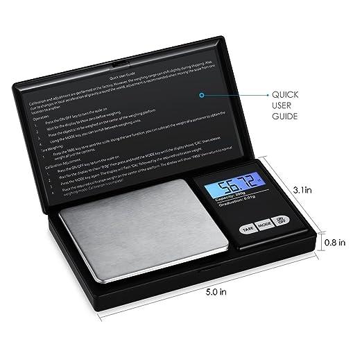 1000 g/0,1 g Báscula portátil - gaxiog Digital Báscula portátil, 1000 x 0,1 g, báscula digital de bolsillo para monedas Báscula: Amazon.es: Oficina y ...