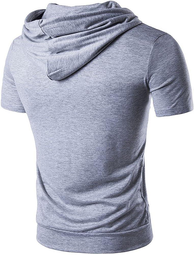 Sweatshirt Herren mit Kapuze Und Tasche Zentral A Bauchtasche