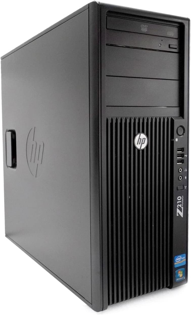 HP Z210 Workstation Tower Intel Core i7 3.4GHz 16GB 1TB HDD Windows 10 Pro (Renewed)