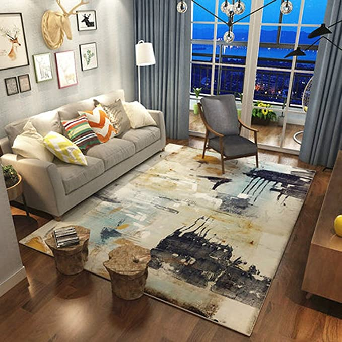 1 opinioni per RUG LUYIASI Tappeto moderno semplice da salotto con tavolino da caffe',