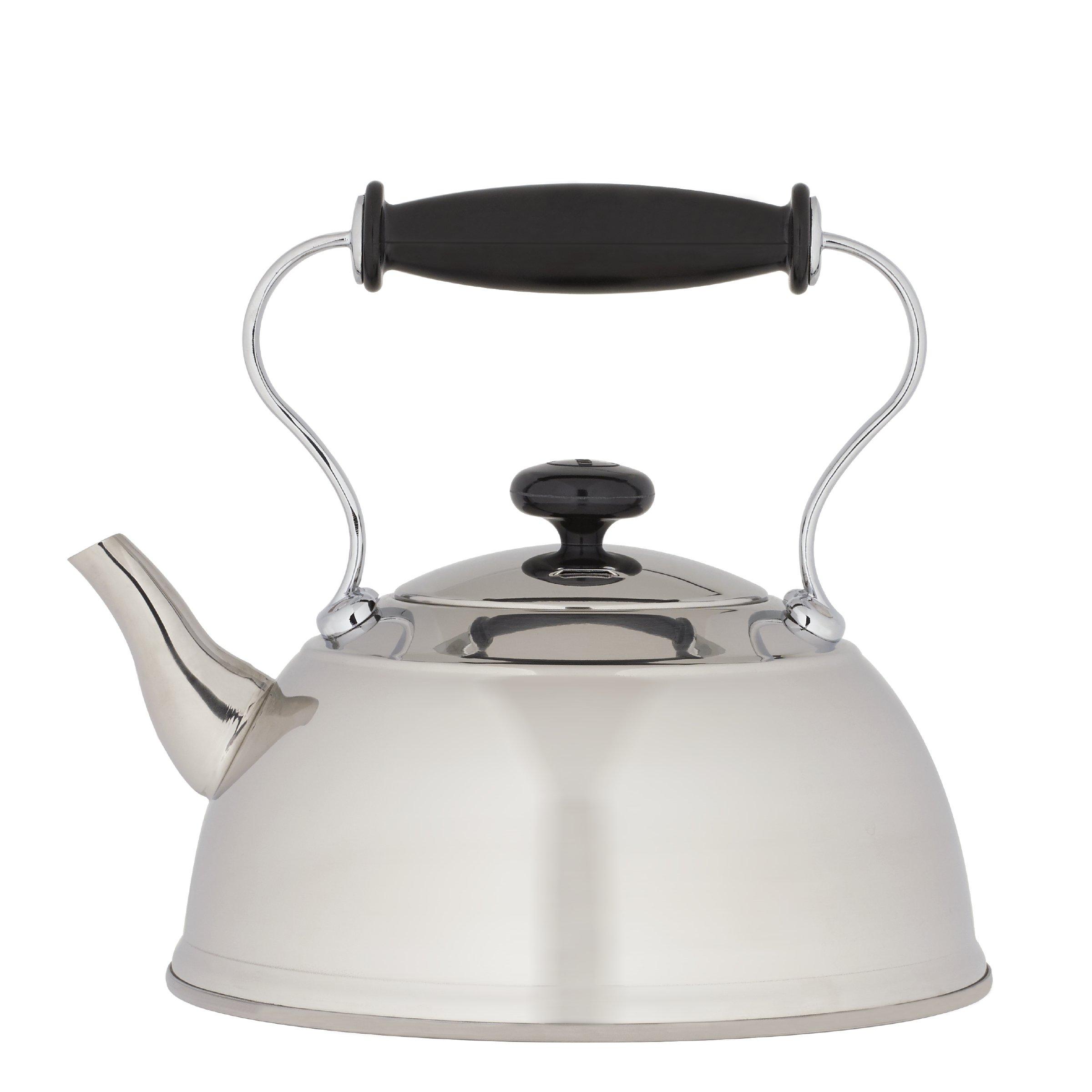 Copco 2501-9705 Cambridge Polished Stainless Steel Tea Kettle, 1.5-Quart