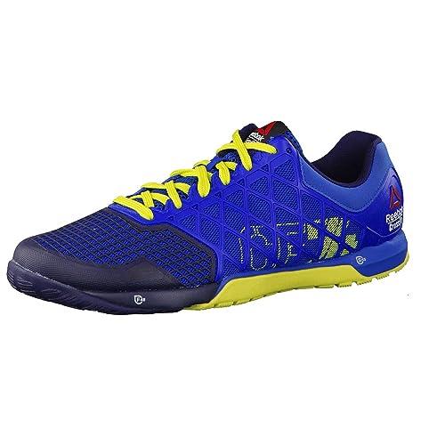 75112070 Reebok Zapatillas Deportivas R Crossfit Nano 4.0 Azul/Amarillo EU 47:  Amazon.es: Zapatos y complementos