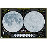 National Geographic Earth's Moon Poster 42 x 28in