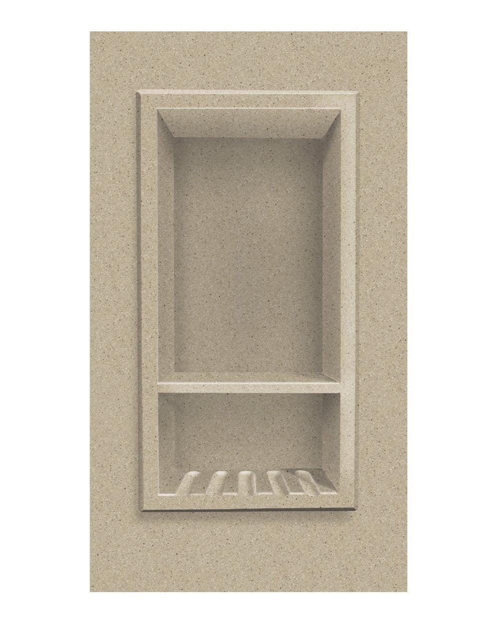 Transolid ACCESS0002-B2 Decor 7-1/2 x 15-Inch Recessed Shampoo Caddy, Matrix Sand by Transolid