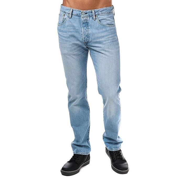 precio competitivo e531a a0343 Pantalones Levis - 501 Original Fit Kraft Ltwt azul talla ...