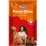 Drools Power Bites Carrot Flavour, Real Chicken, Dog Treats, 135 g