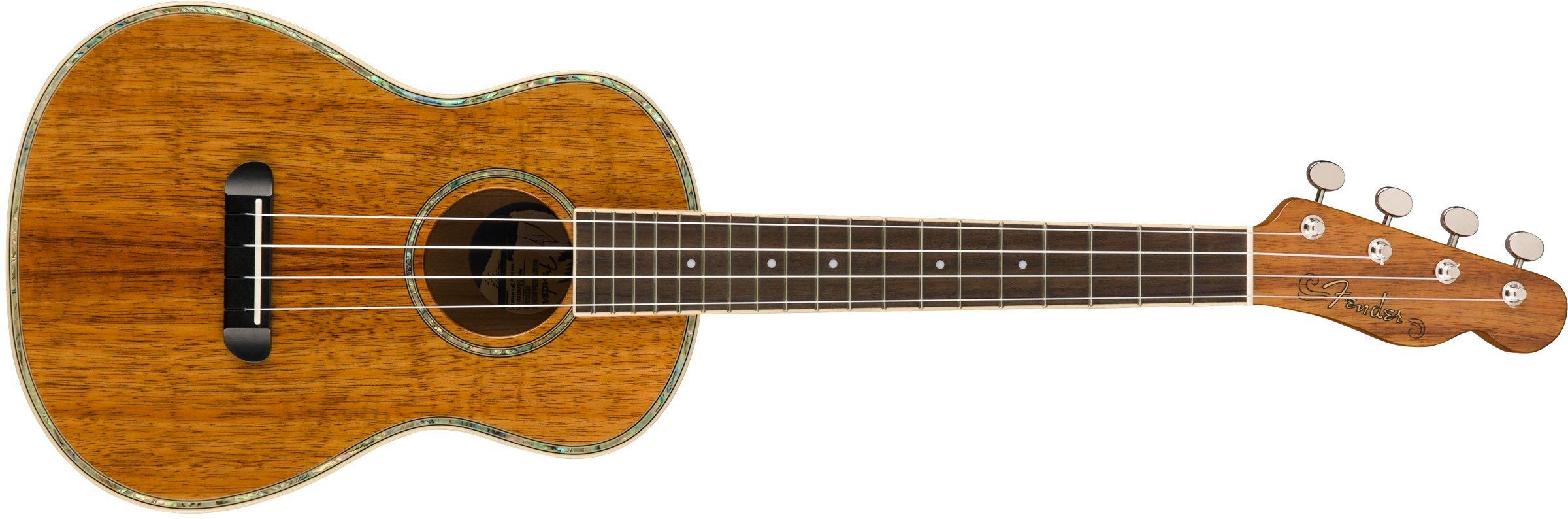 Fender Montecito Tenor Ukulele - Koa by Fender