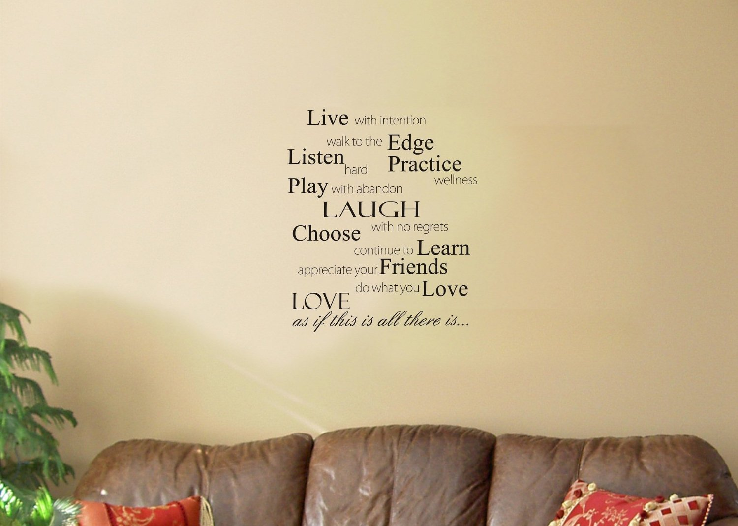 Magnificent Live Love Laugh Wall Art Pattern - Gallery Wall Art ...