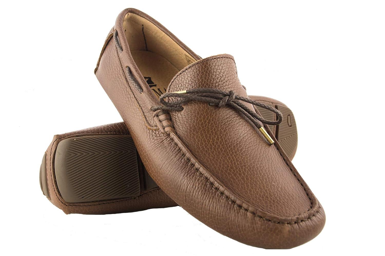 TALLA 47 EU. Zerimar Náuticos de Piel para Hombre | Náuticos Hombre Verano | Zapatos Náuticos Hombre | Mocasines Hombre | Tallas Grandes 46-50