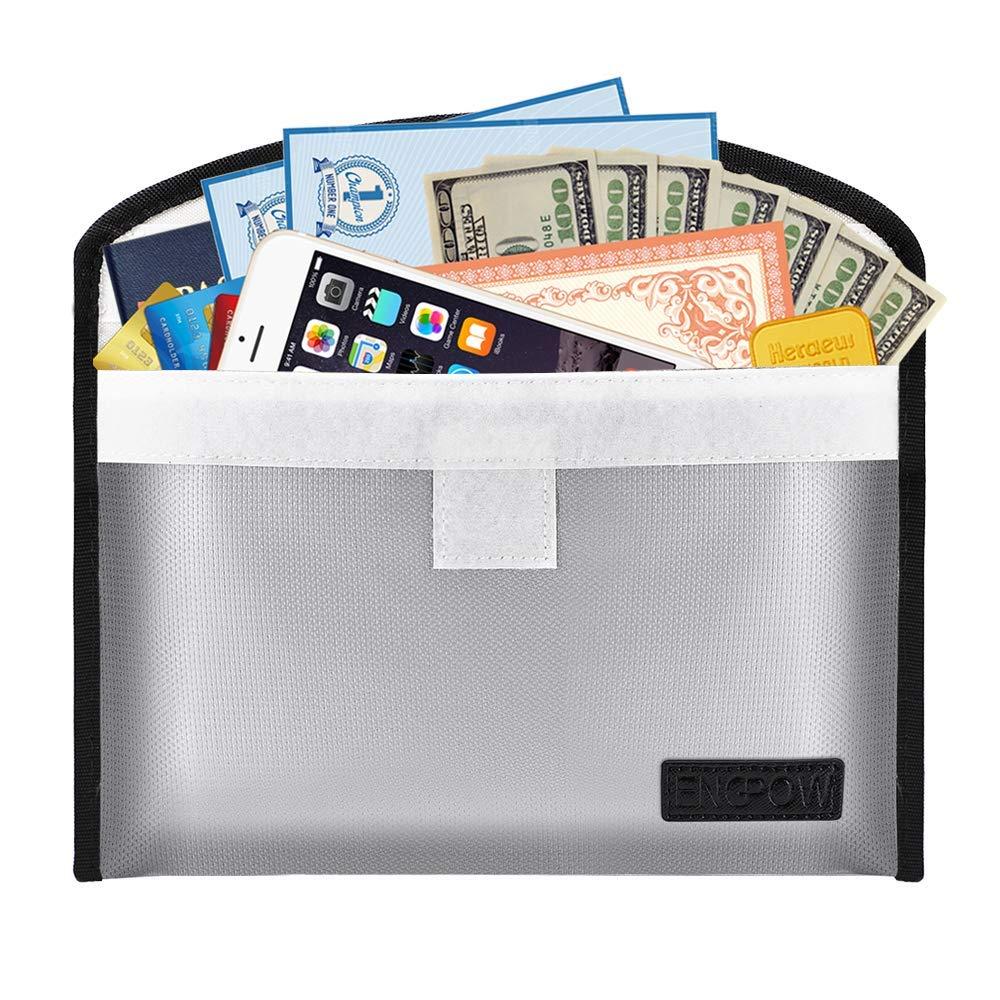 Fireproof Safe Money Cash Bag 10.2\