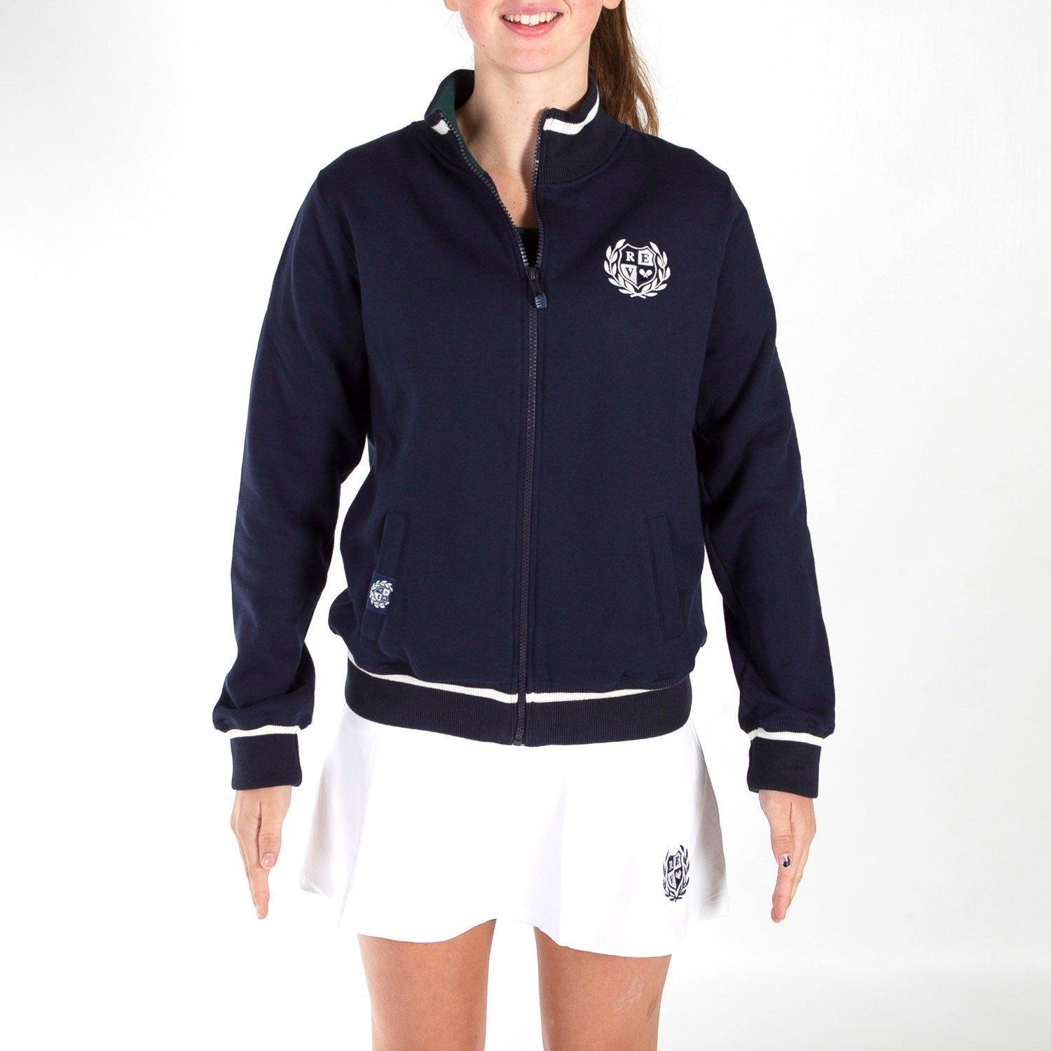 PADEL REVOLUTION - Sudadera Woman 1&2International, Color Azul ...