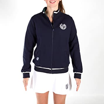 PADEL REVOLUTION - Sudadera Woman 1&2International, Color Azul Talla M