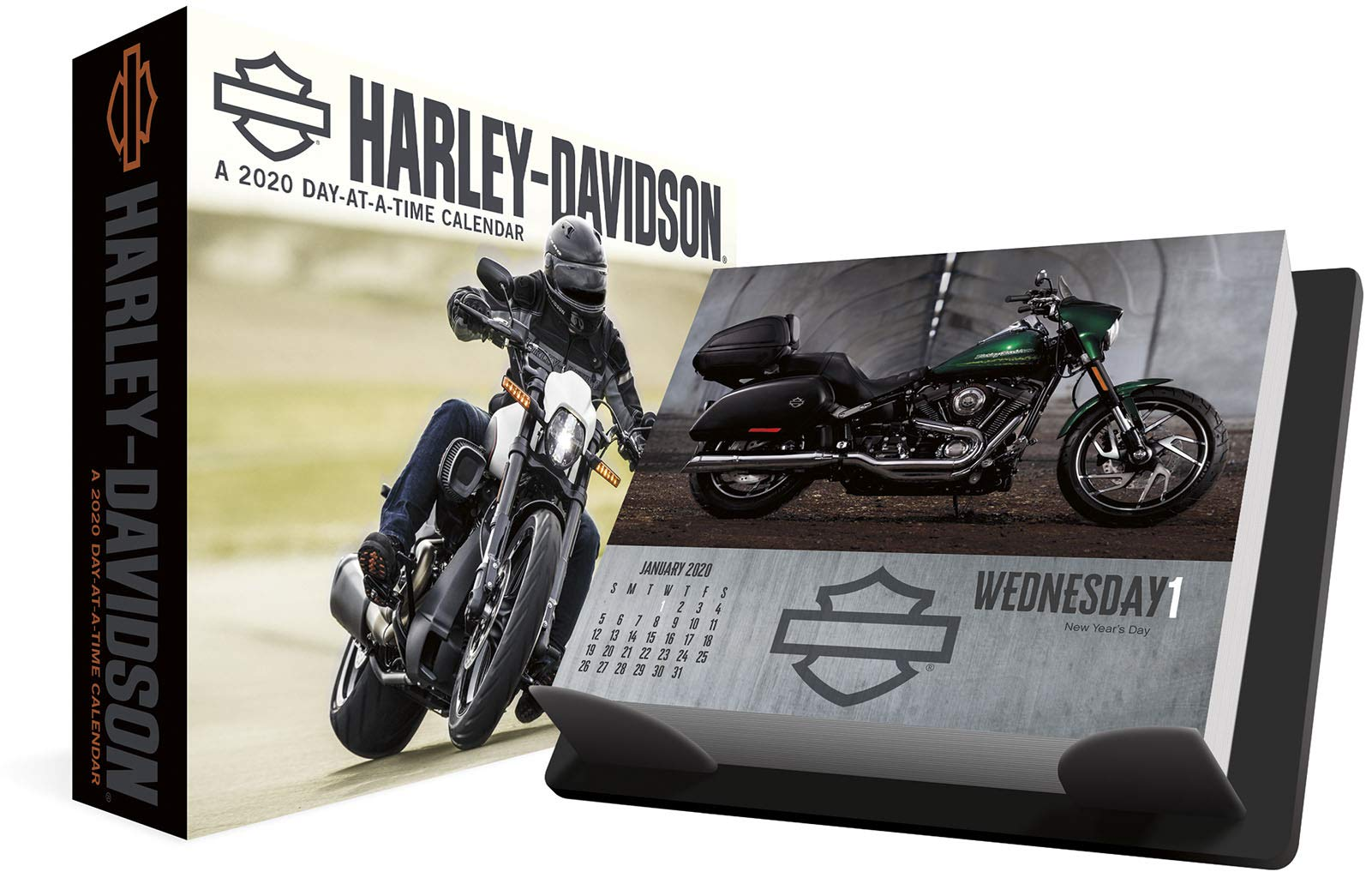 Calendrier Running 2020.Harley Davidson 2020 Box Calendar Trends International