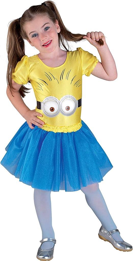 Generique - Disfraz Minion para niña: Amazon.es: Juguetes y juegos