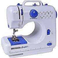 Máquina De Costura Portátil Incasa Compact Bivolt Branca e A