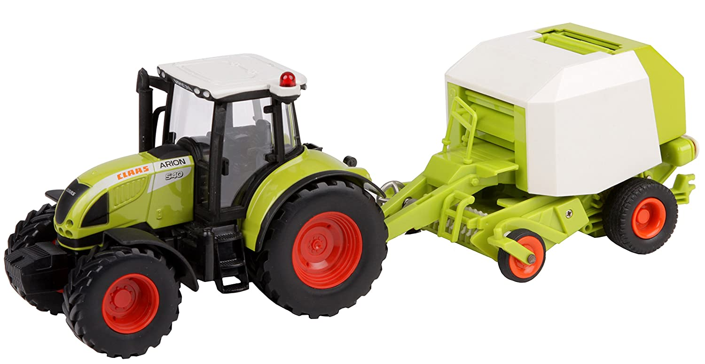 Spielzeug Traktor Claas Arion 540 mit Ballenpresse und ...