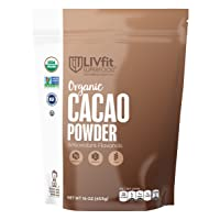 Deals on LIVfit Superfood Organic Cacao Powder