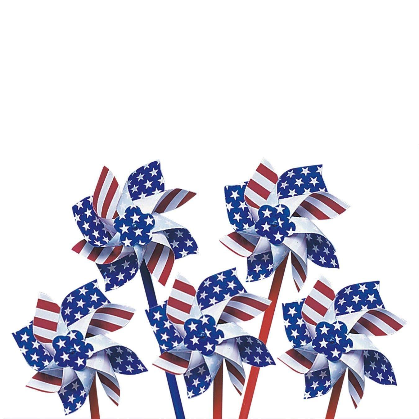 Patriotic Pinwheels (Pack of 36)