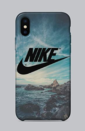 matiz Resignación Convencional  WorldSell Funda de Silicona Suave Case Cover Protección Cáscara Soft Gel  TPU Carcasa Funda para iPhone XS MAX Brands 016 Nike: Amazon.es: Electrónica
